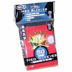 YuGiOh Sized MAX Protection Red Skull 50 Card Game Sleeves