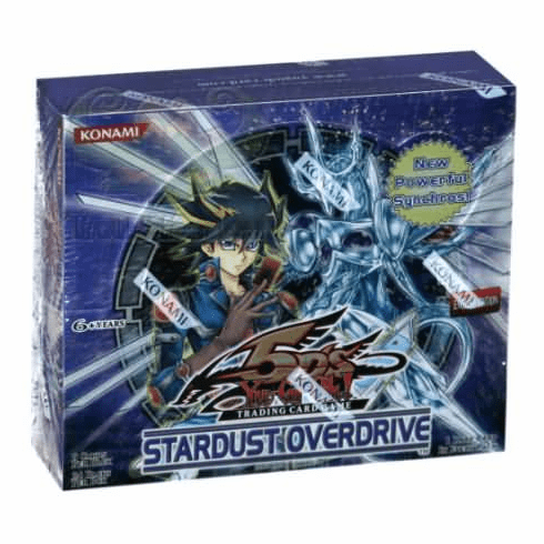 YuGiOh Stardust Overdrive Booster Box