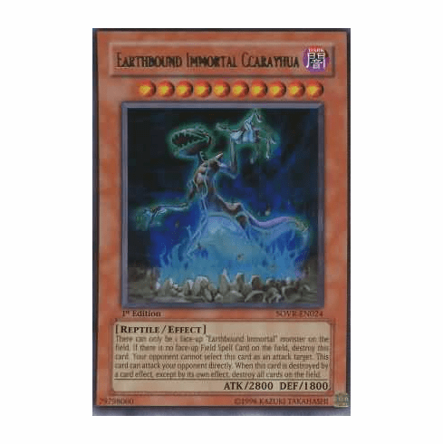 YuGiOh Stardust Overdrive Earthbound Immortal Ccarayhua SOVR-EN024 Ultra Rare Single Card
