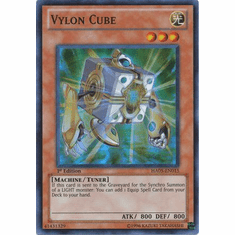 YuGiOh Steelswarm Invasion Card - HA05-EN015 Vylon Cube
