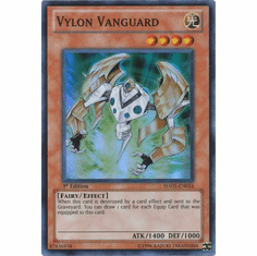 YuGiOh Steelswarm Invasion Card - HA05-EN016 Vylon Vanguard