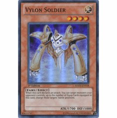 YuGiOh Steelswarm Invasion Card - HA05-EN018 Vylon Soldier