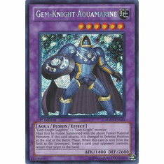 YuGiOh Steelswarm Invasion Card - HA05-EN020 Gem-Knight Aquamarine