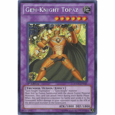 YuGiOh Steelswarm Invasion Card - HA05-EN021 Gem-Knight Topaz