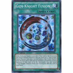 YuGiOh Steelswarm Invasion Card - HA05-EN026 Gem-Knight Fusion