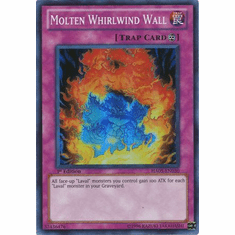 YuGiOh Steelswarm Invasion Card - HA05-EN030 Molten Whirlwind Wall