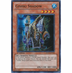 YuGiOh Steelswarm Invasion Card - HA05-EN036 Gishki Shadow