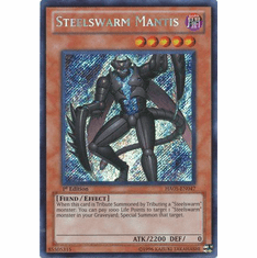YuGiOh Steelswarm Invasion Card - HA05-EN047 Steelswarm Mantis