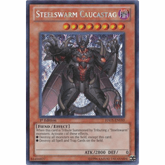 YuGiOh Steelswarm Invasion Card - HA05-EN050 Steelswarm Caucastag