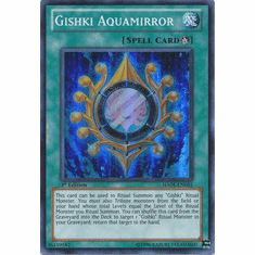 YuGiOh Steelswarm Invasion Card - HA05-EN055 Gishki Aquamirror
