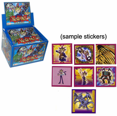 YuGiOh Stickers Pack Blue Classic Edition