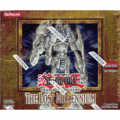 YuGiOh The Lost Millennium Booster Box