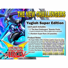 YuGiOh The New Challengers Super Edition Booster