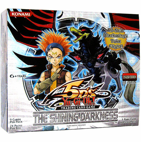 YuGiOh The Shining Darkness Booster Box