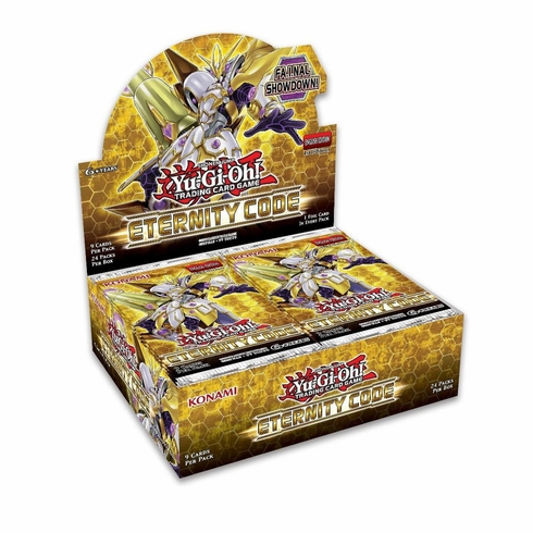 YuGiOh Trading Card Game Eternity Code Booster Box [24 Packs] (Pre-Order ships May)