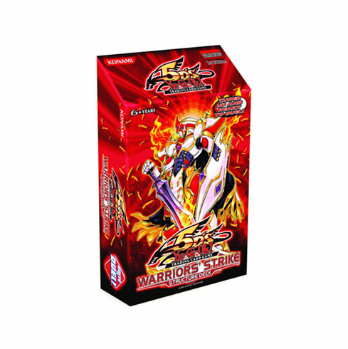 YuGiOh Warriors Strike Structure Deck