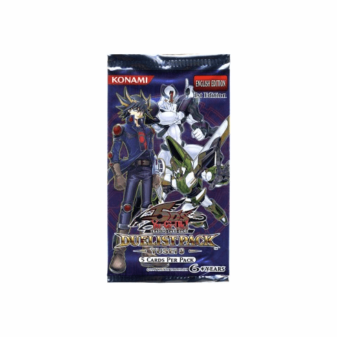 YuGiOh Yusei 3 Booster Pack