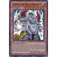 Zaborg the Mega Monarch NECH-EN037 - Ultra Rare The New Challengers Card