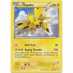 Zapdos 23/108 Rare - Pokemon XY Roaring Skies Card