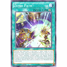 Zefra Path CROS-EN059 Common - YuGiOh Crossed Souls Card