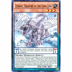 Zefraxi, Treasure of the Yang Zing CROS-EN024 Ultra Rare - YuGiOh Crossed Souls Card