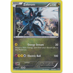 Zekrom 64/108 Holo Rare - Pokemon XY Roaring Skies Card