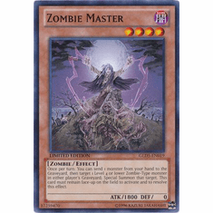 Zombie Master GLD5-EN019 - YuGiOh Haunted Mine Common Card