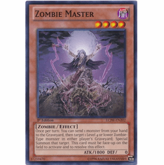 Zombie Master LCJW-EN202 - YuGiOh Joey's World Common Card