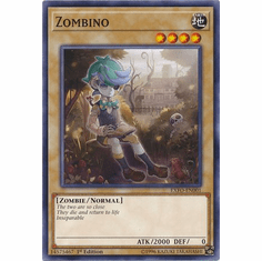 Zombino EXFO-EN001 Common - YuGiOh Extreme Force