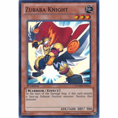 Zubaba Knight NUMH-EN016 - YuGiOh Number Hunters Super Rare Card