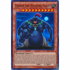 Zushin the Sleeping Giant DRL3-EN018 Ultra Rare - YuGiOh Dragons of Legend Unleashed Card