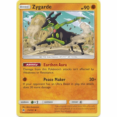 Zygarde 71/131 Uncommon - Pokemon Sun & Moon Forbidden Light Card