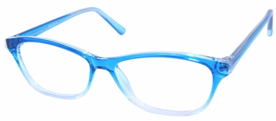 Single Vision Readers with Polycarbonate Blue Blocker Lenses Style #85
