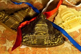 Capitol- Solid Dark Chocolate (GREAT CONFERENCE & CONVENTION GIFTS & WEDDING FAVORS!).