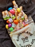 Dark Chocolate Bunnies & Eggs (click on photo for larger image)
