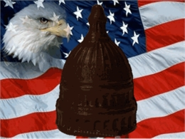Capitol Dome - Solid Dark Chocolate