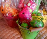 A Pair of Euro-Easter Baskets (click on photo for larger image)