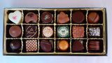 Exquisite Suisse Laderach 18 Piece Euro Assortment - click on photo for larger image