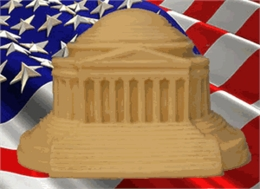Jefferson Memorial - Solid White Chocolate - As featured in Food Network Magazine!