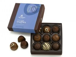 Lake Champlain Truffle Gift Box - 9 Piece (click on photo for larger image)