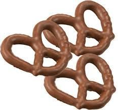 Large Milk Chocolate Covered Pretzels