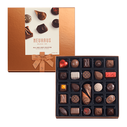 Neuhaus of Belgium Milk & Dark Gift Box (25 pieces) - Click on photo for larger image