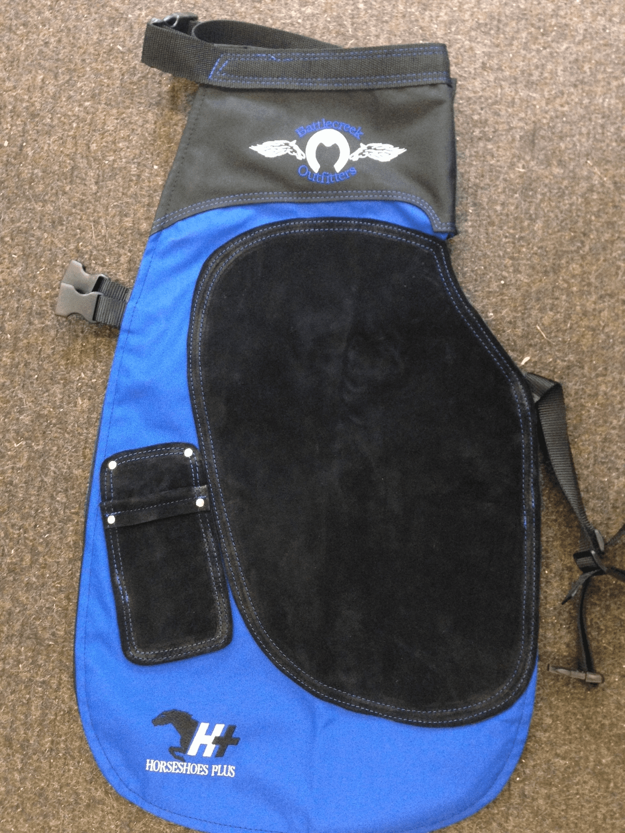 Battlecreek Apron Blue