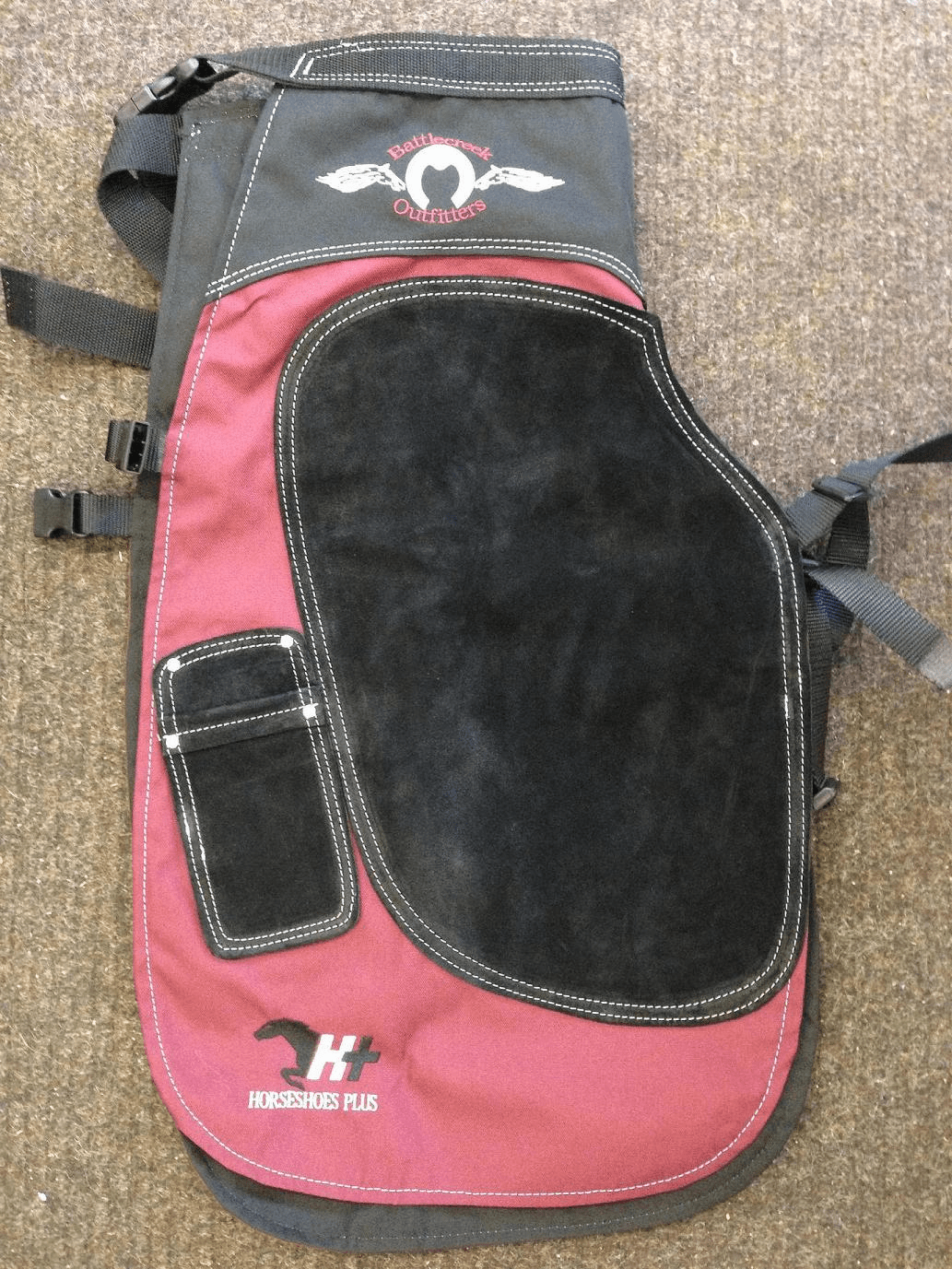 Battlecreek Apron Burgundy