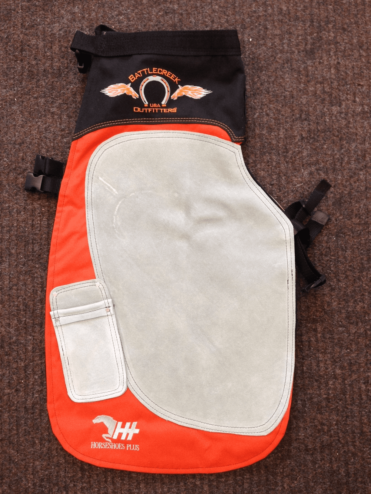 Battlecreek Apron Orange