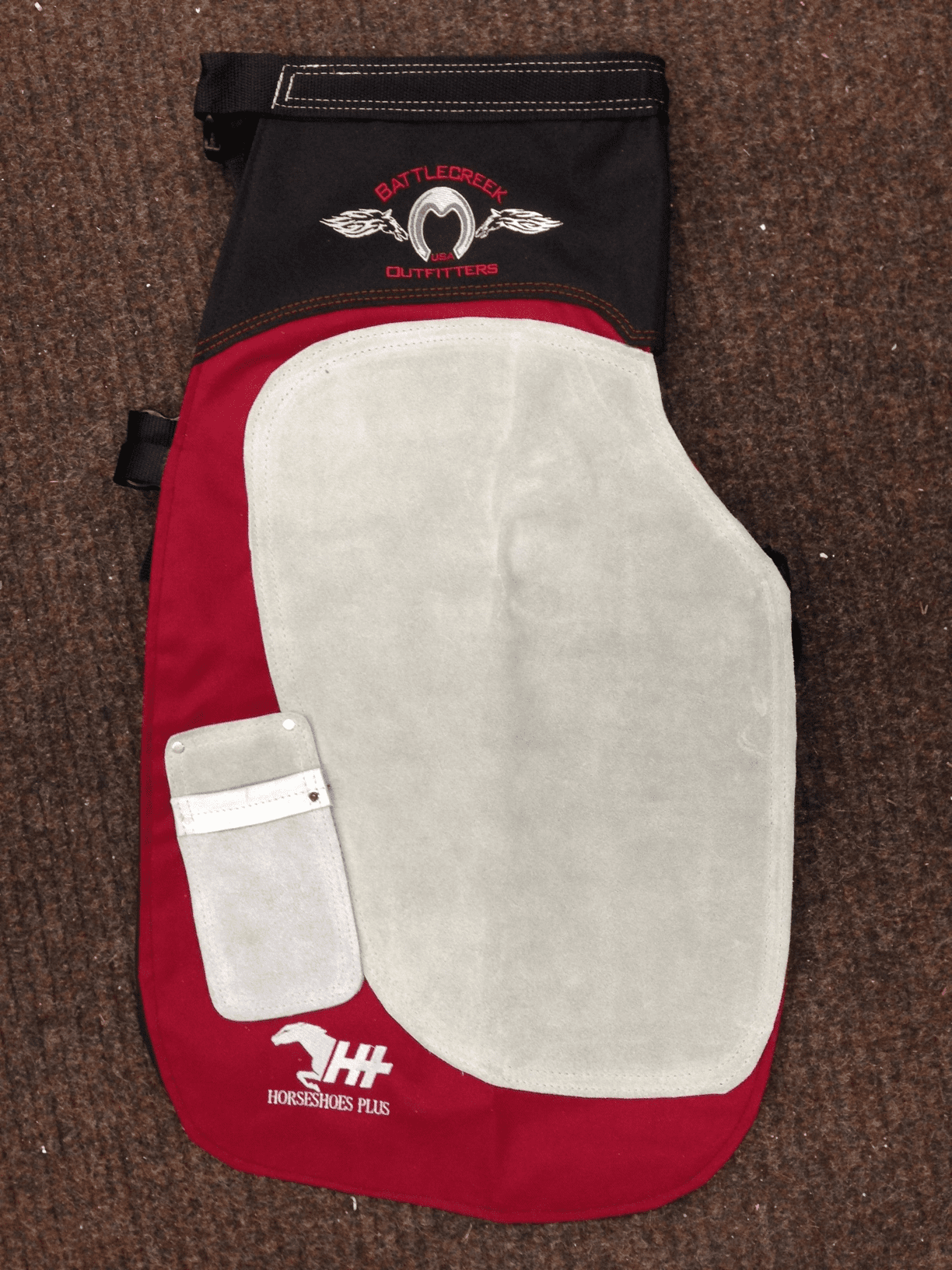 Battlecreek Apron Red