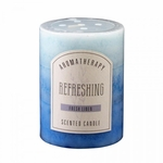 Fresh Linen Pillar Candle 3X4