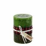 Holiday Wreath Scented Candle 3x4