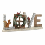 Love Christmas Decorative Sign