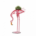 Ready To Eat Flamingo Planter